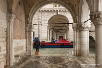 The portico of the Doge's Palace.